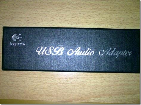 罗技USB声卡-盒子